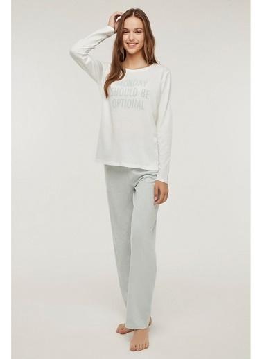 Penti Base Monday Pijama Takımı Renkli